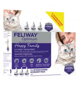Ceva - Feliway Optimum - Ricarica - 3 da 48ml