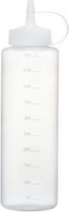Dosatore graduato per salse in plastica 500 ml