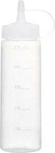 Dosatore graduato per salse in plastica 250 ml