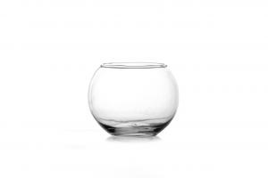 Vaso a sfera in vetro