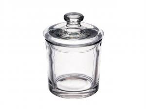 Scatola in vetro con coperchio
