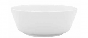 Coppa frutta insalata porcellana bianca