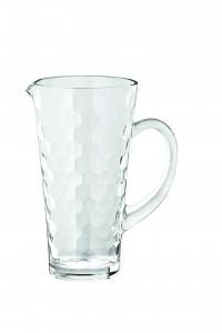Brocca Honey in vetro con manico
