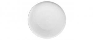 Piatto pizza in porcellana bianca 2 pezzi