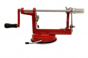 Sbucciamele professionale in acciaio inox rosso