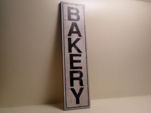 Pannello Decorativo bianco BAKERY in legno stile Shabby Chic