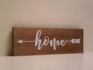 Pannello Decorativo in legno HOME stile Shabby Chic