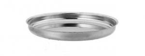 Vassoio Rotondo in acciaio Inox per Frutti di Mare
