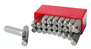 Punzoni a mano destri a filo continuo mm 6 - Serie Alfabeto A-Z - Seb 2880.6