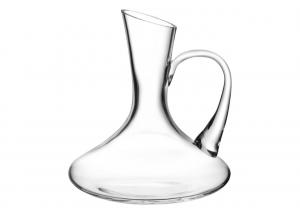 Caraffa decanter in vetro cristallino 1lt