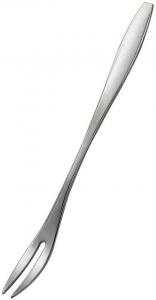 Forchetta per lumache in acciaio inox