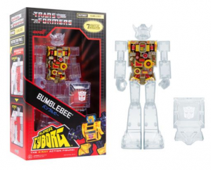 *PREORDER*Transformers Super Cyborg: BUMBLEBEE (Clear) By Super7