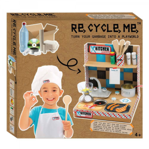 Kit Gioco Bricolage Playworld Cucina Re-Cycle-Me