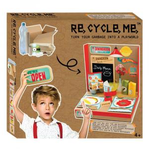 Kit Gioco Bricolage Playworld Ristorante Re Cycle Me