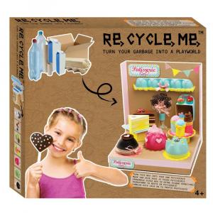 Kit Gioco Bricolage Playworld Pasticceria Re Cycle Me