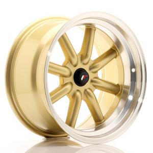 Cerchi in lega  JAPAN RACING  JR19  17''  Width 9   BlankxBLANK  ET -25-(-10)    Gold