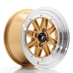 Cerchi in lega  JAPAN RACING  JR31  15''  Width 7,5   4x100  ET 20    Gold w/Machined Lip