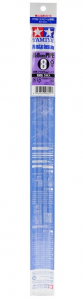 Clear Plastic Beam 8mm Tubo
