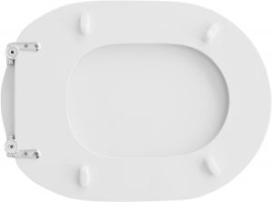 SEDILE WC PER IDEAL STANDARD VASO FIORILE                              Bianco IS (grigio chiaro)