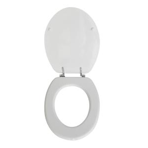 SEDILE WC IN LEGNO COLATO MODELLO ALEX Bianco