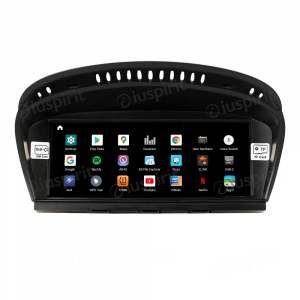 ANDROID 10 navigatore per BMW Serie 3 E90 E91 E92 BMW Serie 5 E60 E63 E64 Sistema originale CCC CarPlay Android Auto WI-FI GPS 4G LTE Bluetooth 4GB RAM 64GB ROM