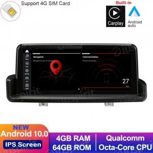ANDROID 10 navigatore per BMW Serie 3 E90 E91 E92 E93 2006-2012 10.25 pollici CarPlay Android Auto WI-FI GPS 4G LTE Bluetooth 4GB RAM 64GB ROM