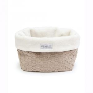Beauty case Cestino portaoggetti per il bagno Bamboom Honey Sabbia