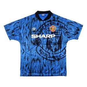 1992-93 Manchester United Maglia Away L (Top)