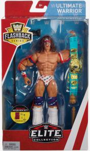 WWE Elite - Flashback: ULTIMATE WARRIOR by Mattel