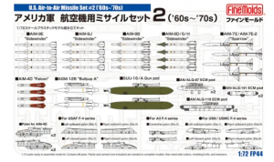 US Air-to-Air Missile Set #2 ('60s-'70s)