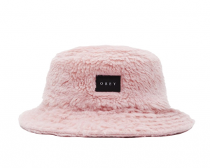 Cappello Obey Sherpa Bucket Pink