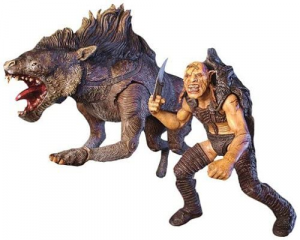 Lords of the Rings: SHARKU with WARG BEAST by Toy Biz