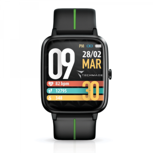 TECHMADE Smartwatch move - black green
