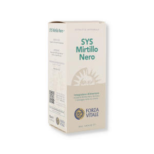 SYS MIRTILLO NERO GOCCE - 50ML