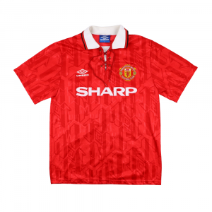 1992-94 Manchester United Maglia Home M (Top)