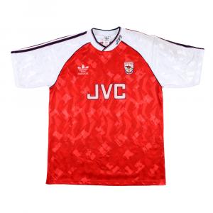 1990-92 Arsenal Maglia Home L (Top)