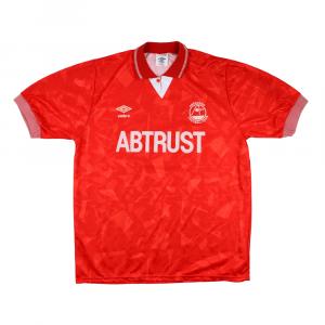 1990-92 Aberdeen Umbro Maglia Home L (Top)