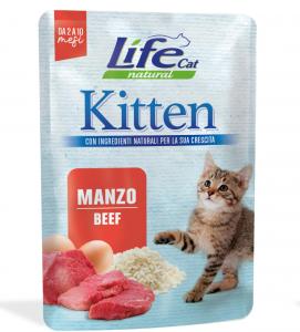 Life Cat - Natural - Kitten - 70g x 30 buste