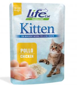 Life Cat - Natural - Kitten - 70g x 6 buste