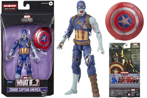 *PREORDER* Marvel Legends Series What If...: ZOMBIE CAPTAIN AMERICA (The Watcher BAF) by Hasbro