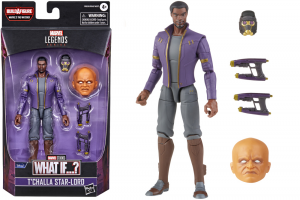 *PREORDER* Marvel Legends Series What If...: T'CHALLA STAR-LORD (The Watcher BAF) by Hasbro