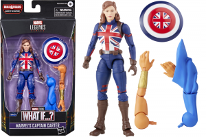 *PREORDER* Marvel Legends Series What If...: CAPTAIN CARTER (The Watcher BAF) by Hasbro