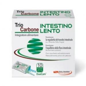 TRIOCARBONE INTESTINO LENTO - 10 BUSTE