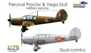 Dual Combo Percival Proctor & Vega Gull Military Sevice