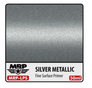 Fine Surface Primer - Silver Metallic