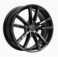 Cerchi in lega  GOLF R 2016  Dedica  VW & SKODA  18''  Width 8   5x112  ET 42  CB 57.1    GLOSS BLACK-2