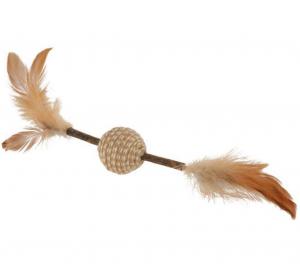 Trixie - Gioco Piume - Con Bastoncino di Matatabi - 20 cm