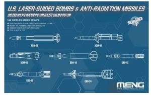 US Laser Guided Bombs & Anti-Radiation Missiles