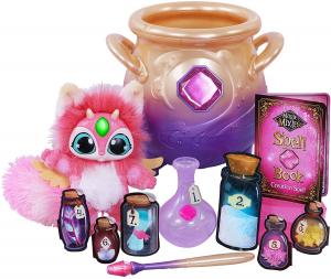 Magic Mixies Pentolone magico con una morbida sorpresa, crea l'incantesimo con la bacchetta magica e gli ingredienti inclusi, Giochi Preziosi, MGX00000 ROSA