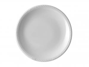 Piatto In Porcellana Lido Bianco Frutta Cm20